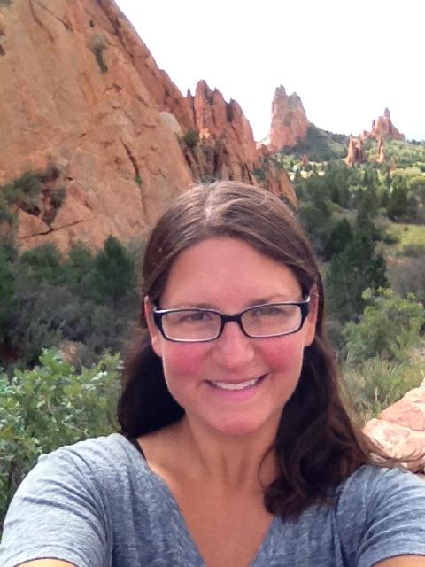 Me in Garden of the Gods, Colorado Springs, Colorado