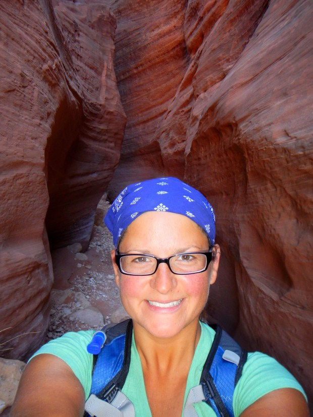 Me in Wire Pass, Grand Staircase-Escalante National Monument, Utah