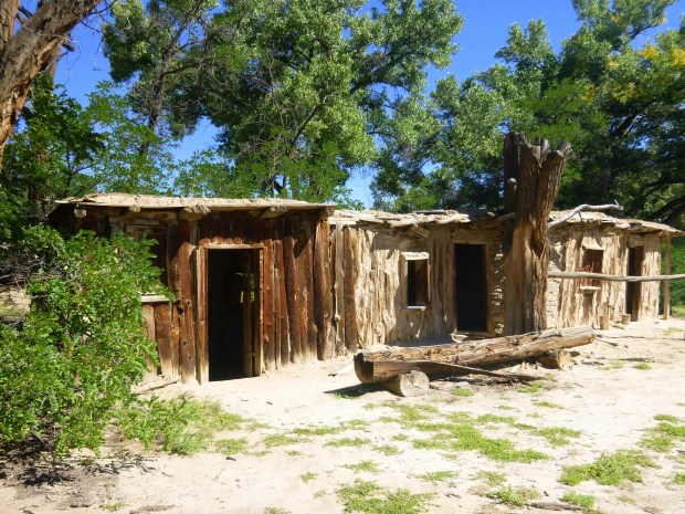 Salmon Homestead bunkhouse, ca. 1900, Salmon Ruins, New Mexico