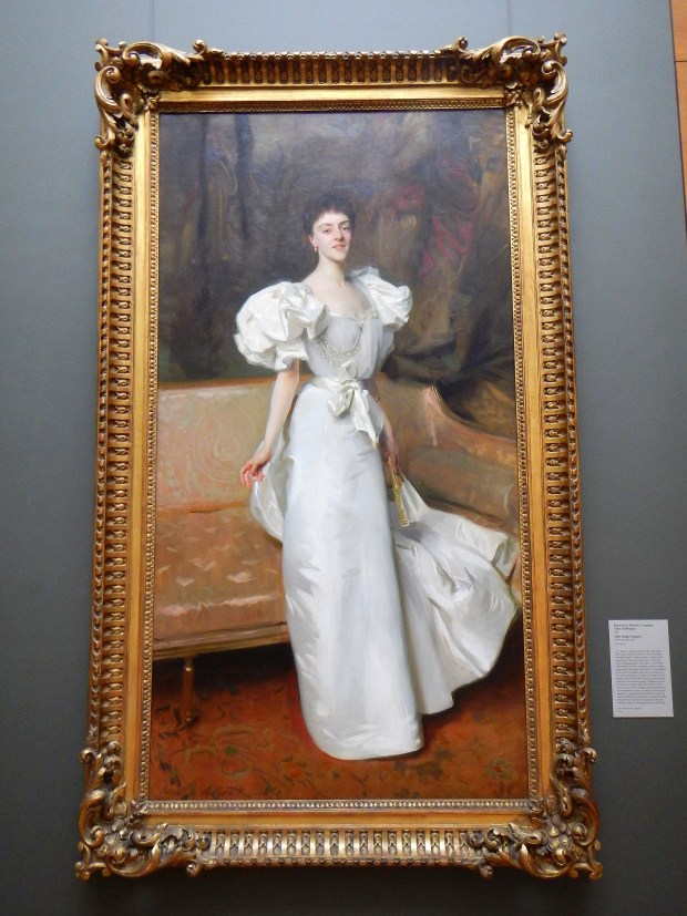 Portrait of Therese, Countess Clary Aldringen, John Singer Sargent, 1896