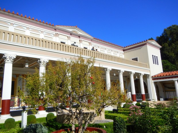 Looking back towards Inner Peristyle from Outer Peristyle, Getty Villa, Los Angeles, California