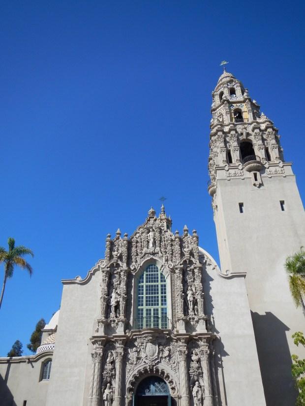 Façade of Museum of Man, Balboa Park, San Diego, California