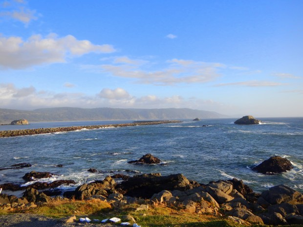 View from in front of Battery Point Lighthouse, Crescent City, California