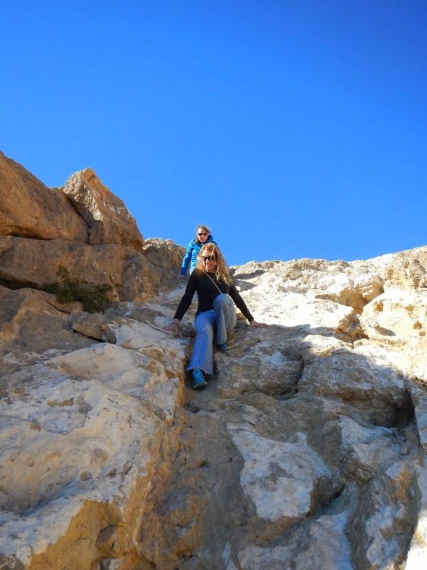 Descending the Ron Coleman Trail, McKelligon Canyon, El Paso, Texas