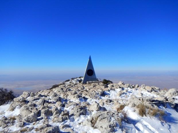Guadalupe Peak, Guadalupe Peak Trail, Guadalupe Mountains National Park, Texas