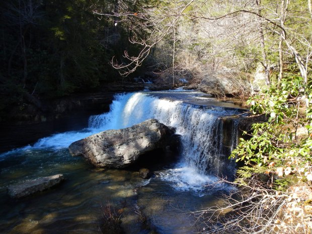 Upper Greeter Falls, South Cumberland State Park, Tennessee