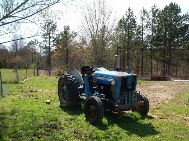 Old Tractor at SAA Ranch, White City, Tennessee