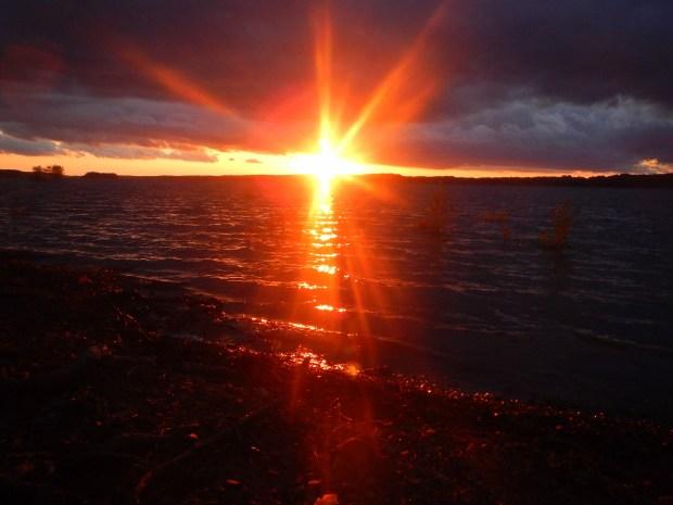 Sunset over DeGray Lake, Arkansas