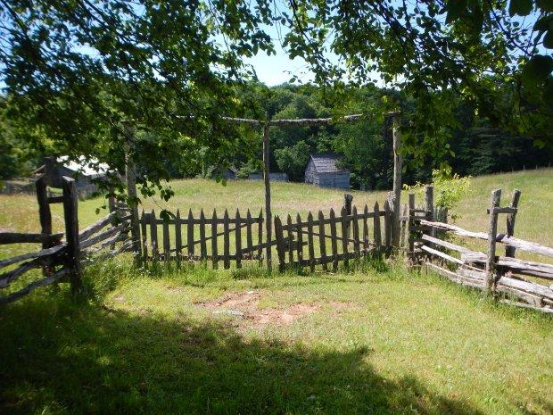 Lige Gibbons homestead, Hensley Settlement, Cumberland Gap National Historical Park, Kentucky