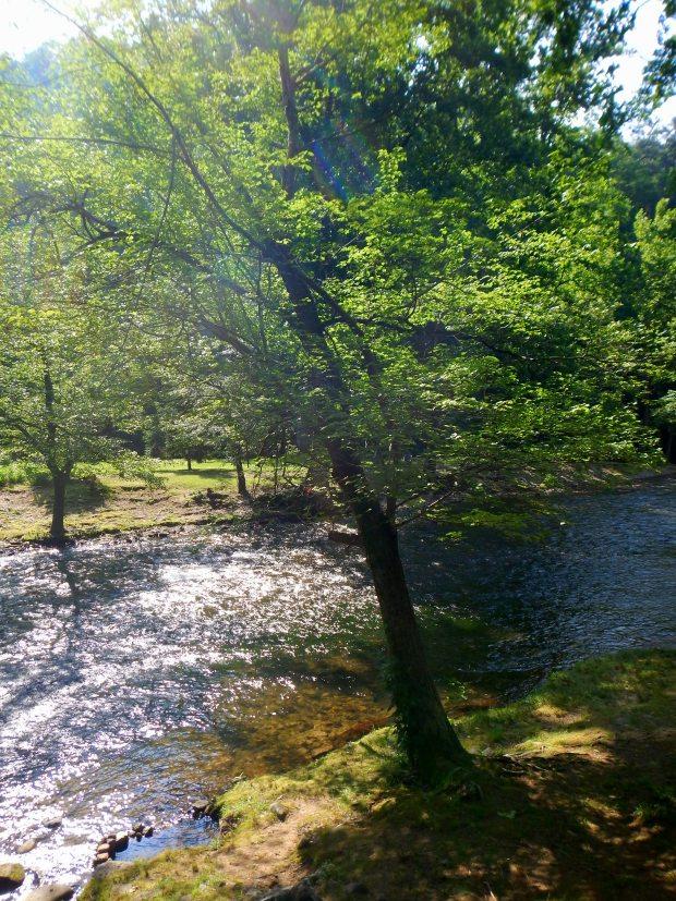 Oconaluftee Islands Park, Cherokee, North Carolina
