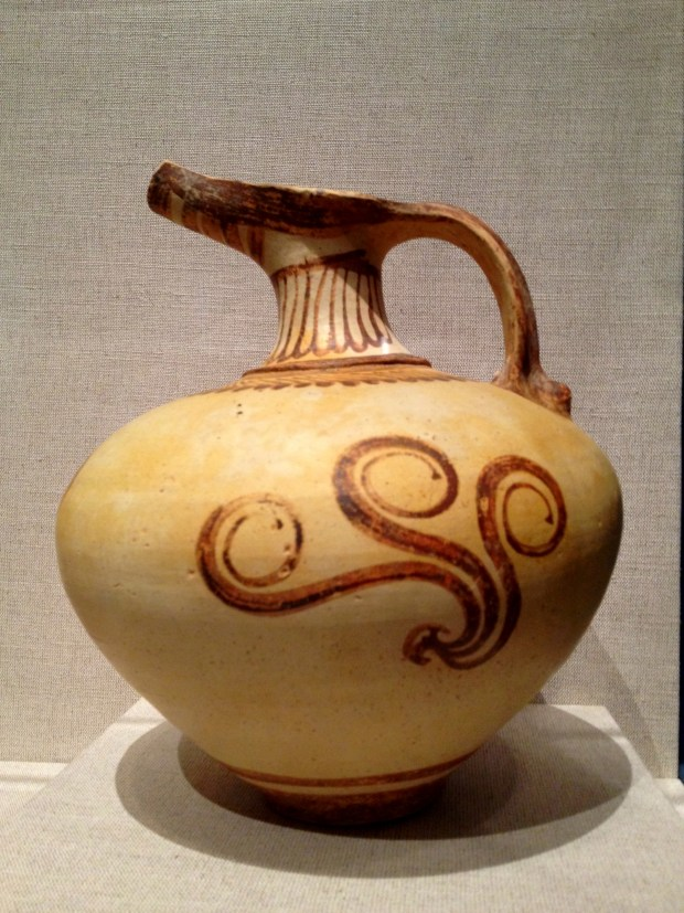Late Helladic IIB or IIIA Mycenaean jug, Walters Art Museum, Baltimore Maryland