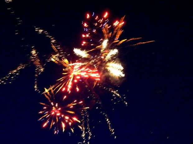 Fireworks, Fourth of July Party, New York