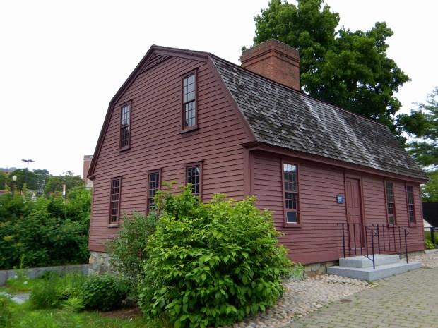 Sylvanus Brown House, Slater Mill Historic Site, Pawtucket, Rhode Island