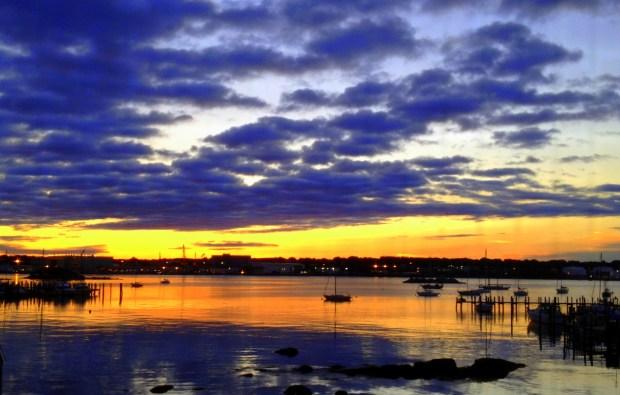 Sunrise, New London, Connecticut