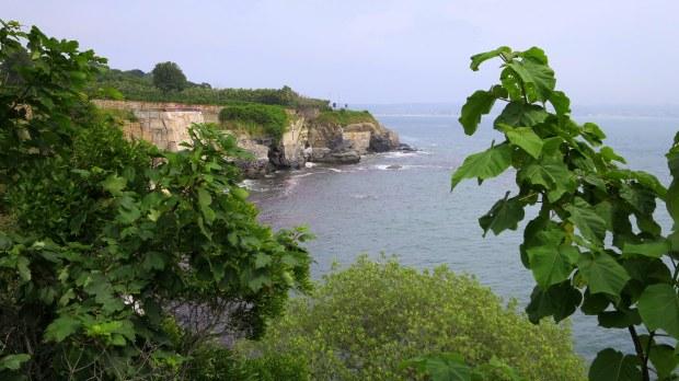 Views near Ochre Court, Cliff Walk, Newport, Rhode Island