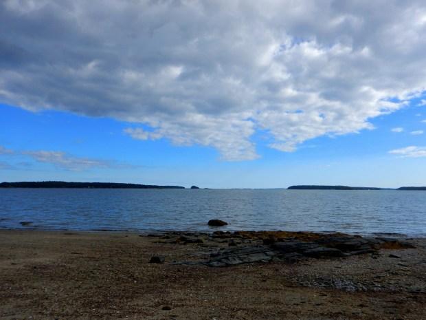 Casco Bay, Wolfe's Neck State Park, Maine