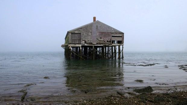 Smoke house, Lubec, Maine