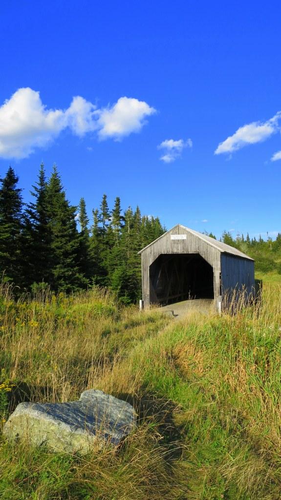 Little Lepreau River Covered Bridge, Lepreau, New Brunswick, Canada