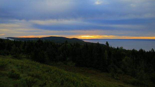 Sunrise, Fundy National Park, New Brunswick, Canada