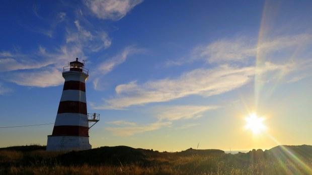 Western Light, Brier Island, Nova Scotia, Canada