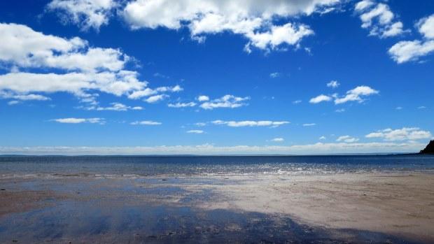 View out into the bay, Wasson Bluff, Parrsboro, Nova Scotia, Canada