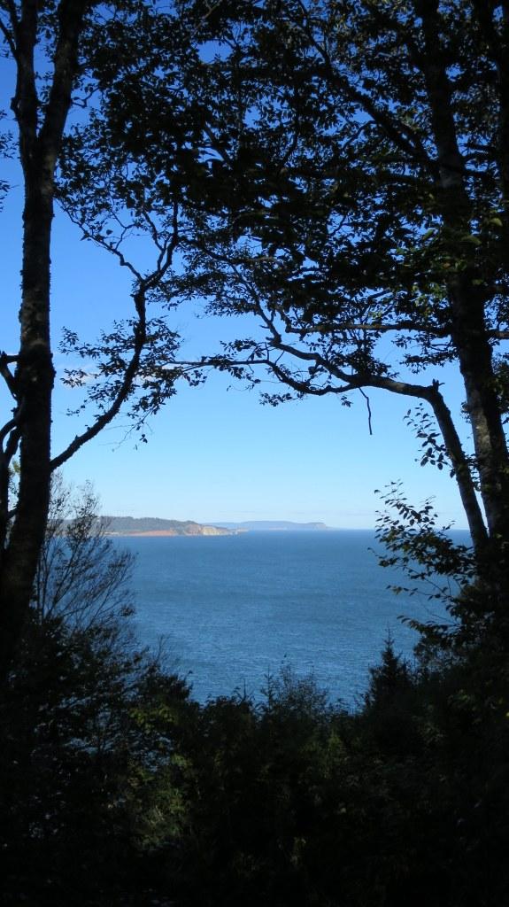 View from Partridge Island Trail, Partridge Island, Parrsboro, Nova Scotia, Canada