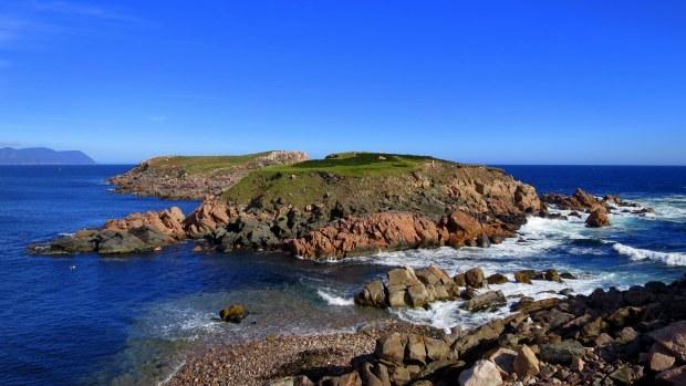 Islands off White Point, Cape Breton Island, Nova Scotia, Canada