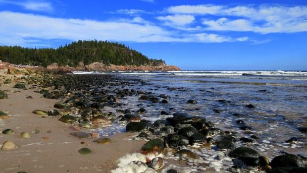 Beach at Black Brook Cove, Cape Breton Highlands National Park, Nova Scotia, Canada