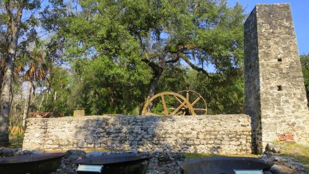 Kettles, Yulee Sugar Mill Ruins State Park, Florida