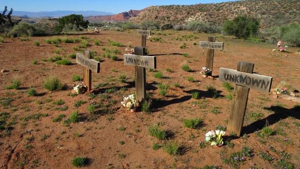 Cemetery at Silver Reef, Utah