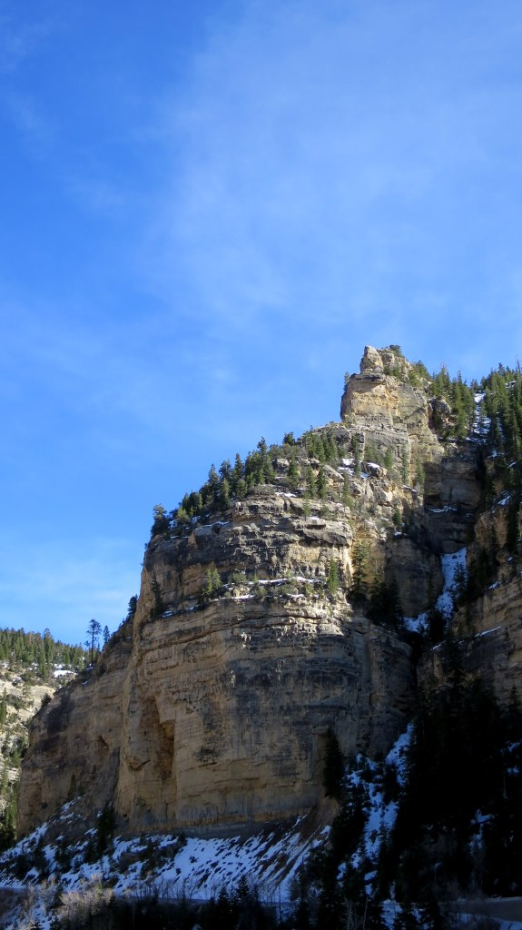 Cliffs above Ashdown Creek, Dixie National Forest, Utah