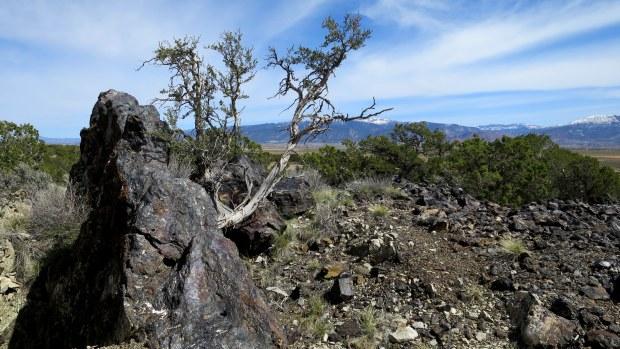 Iron vein, Iron Mountain District, Cedar City, Utah