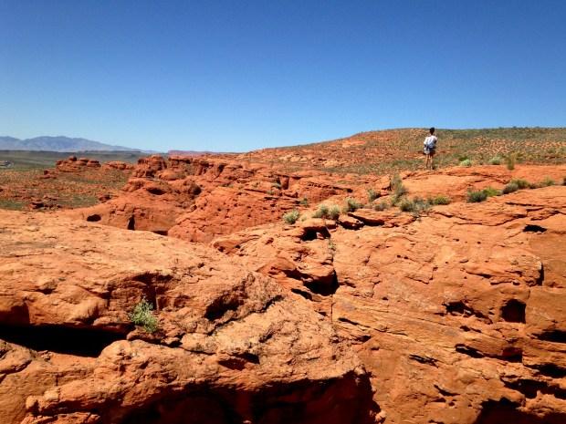 Me, Dino Cliffs, Red Cliffs Desert Reserve, Utah