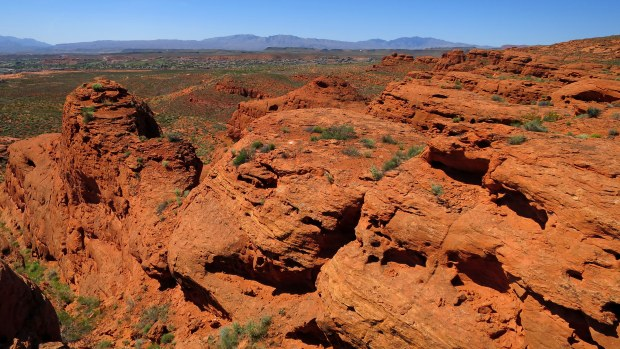 Above the Dino Cliffs, Red Cliffs Desert Reserve, Utah