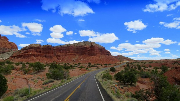 Route 24, Capitol Reef National Park, Utah