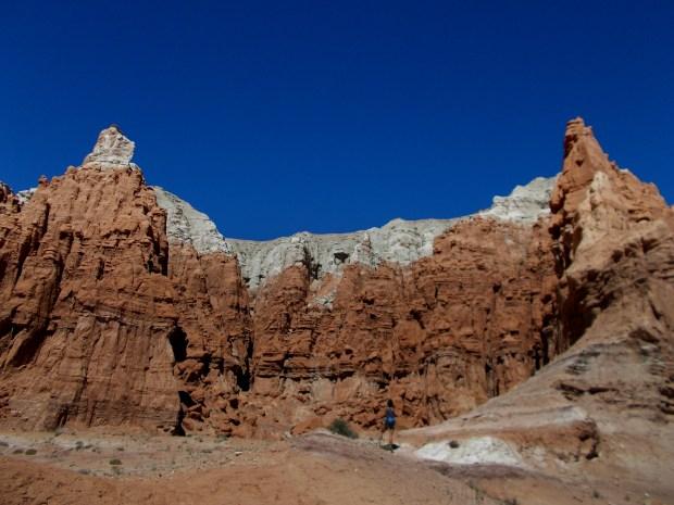 Me taking photos at Goblin Valley State Park, Utah