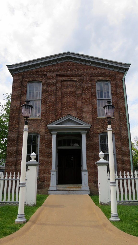 Thomas Edison's original office and laboratory, relocated from Menlo Park, New Jersey to Greenfield Village, Michigan