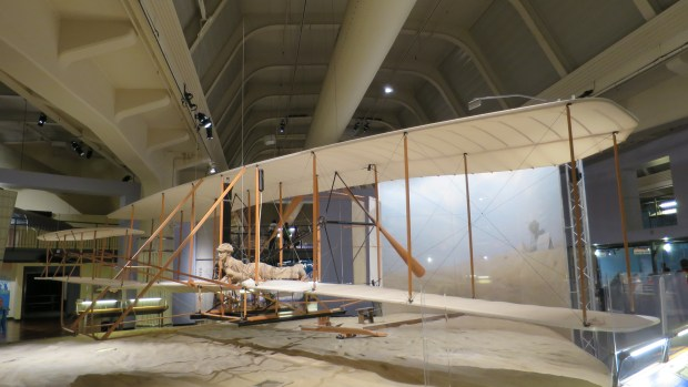 Replica of the 1903 Wright Flyer, The Henry Ford, Dearborn, Michigan