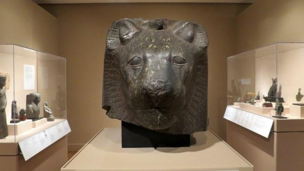 Head of Sekhmet, Egyptian, ca. 1554 – 1305 BC, Detroit Institute of Arts, Michigan