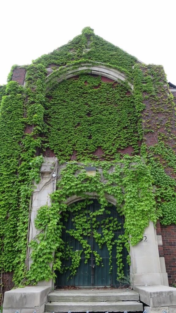 Abandoned church, Detroit, Michigan