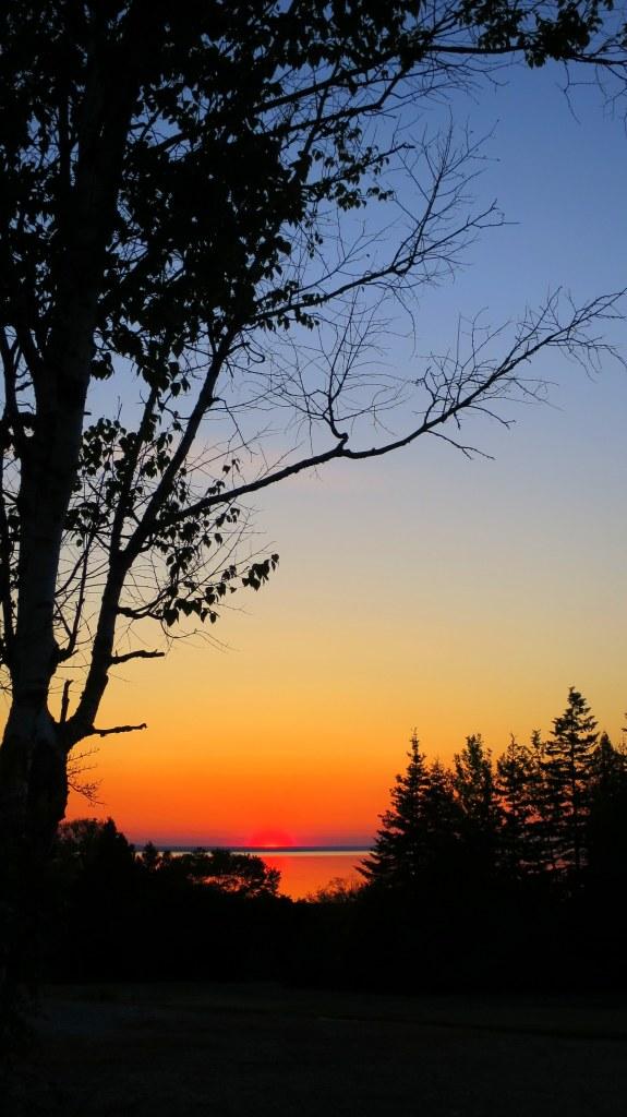 Sunrise, St. Ignace, Michigan