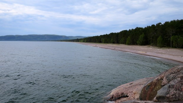 View from the headlands, Lake Superior Provincial Park, Ontario, Canada