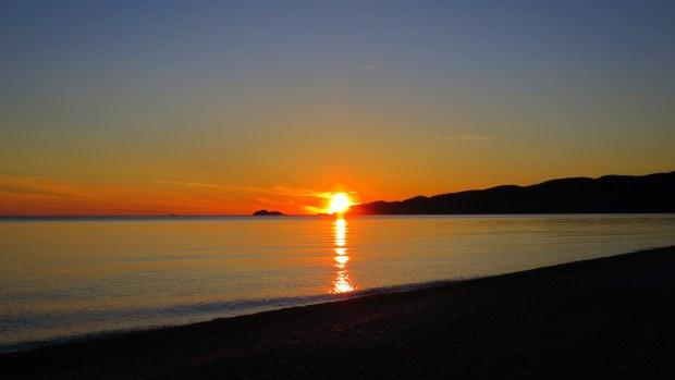 Sunset, Lake Superior Provincial Park, Ontario, Canada
