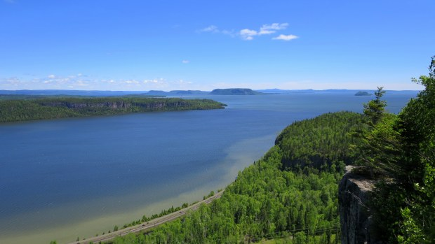 Eagle's Ridge lookout, Nipigon River Trail, Ontario
