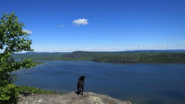Fearless, Eagle's Ridge lookout, Nipigon River Trail, Ontario