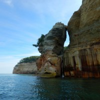 Third Time's the Charm. Or, Pictured Rocks National Lakeshore, Part 2: Kayaking the Cliffs