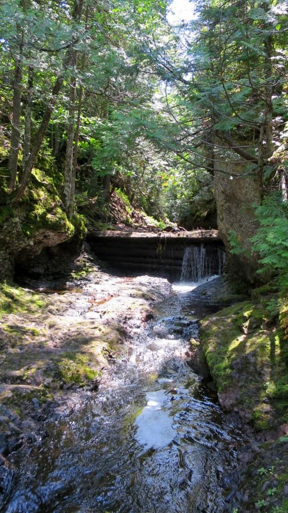 Below Manganese Falls, Copper Harbor, Michigan