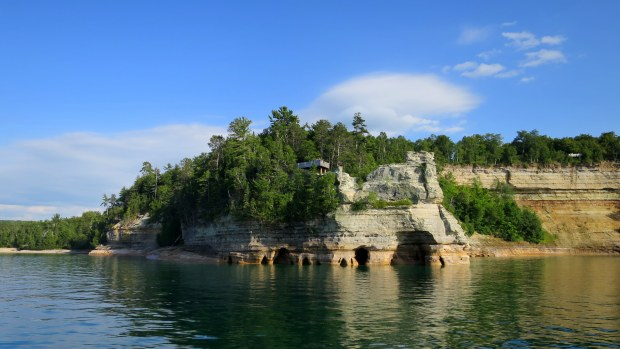 Miner's Castle, Pictured Rocks National Lakeshore, Michigan