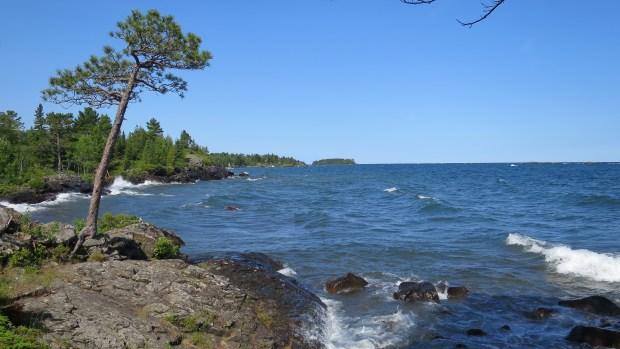 Shoreline, Keweenaw Peninsula, Michigan