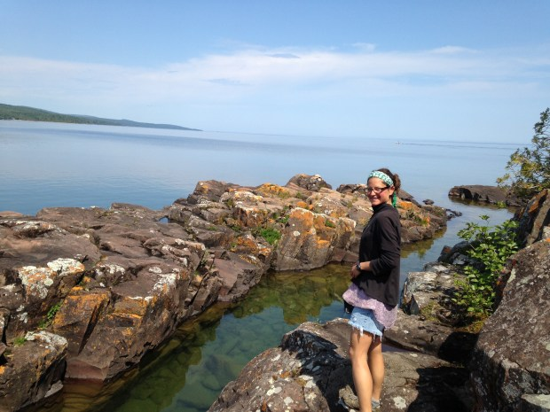 Me, Artists' Point, Grand Marais, Minnesota